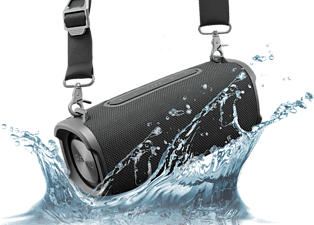 PEAQ PPA 501 BT-B - Haut-parleur Bluetooth (Noir)