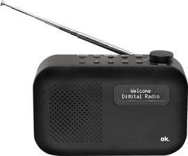 OK ORD 111 BT-B-1 - Radio numérique (DAB+, FM, Noir)