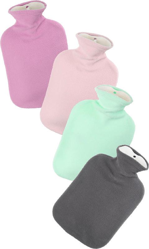 Fashy Wärmflasche mit Flauschbezug