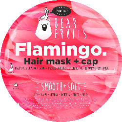 Bear Fruits Haarmaske Flamingo, Hair mask + cap