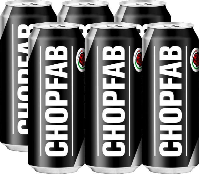 Chopfab Bier , 6 x 50 cl