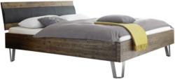 Bett 180/200 cm in Braun, Akaziefarben