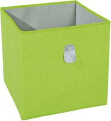 Faltbox in Grau/Grün