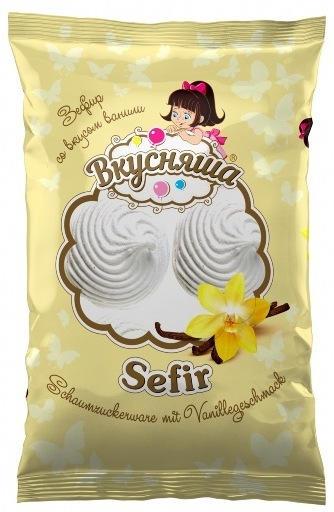 Schaumzuckerware mit Vanillegeschmack