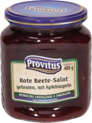 Rote Beete-Salat, gebraten, mit Apfelraspeln