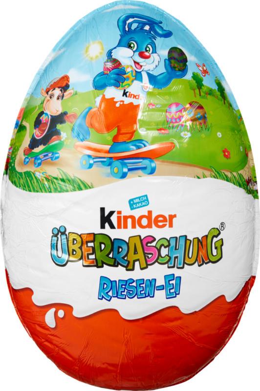Uovo gigante Kinder Sorpresa Ferrero, per bambini