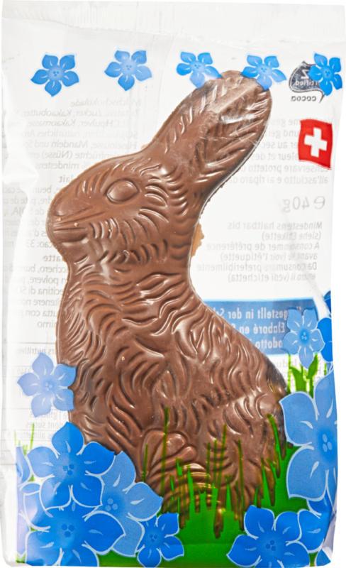 Coniglietto pasquale di cioccolato al latte Classic, 40 g
