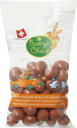 Ovetti di cioccolato Bunny's Choice, Gelatina all'aroma di frutta, 300 g