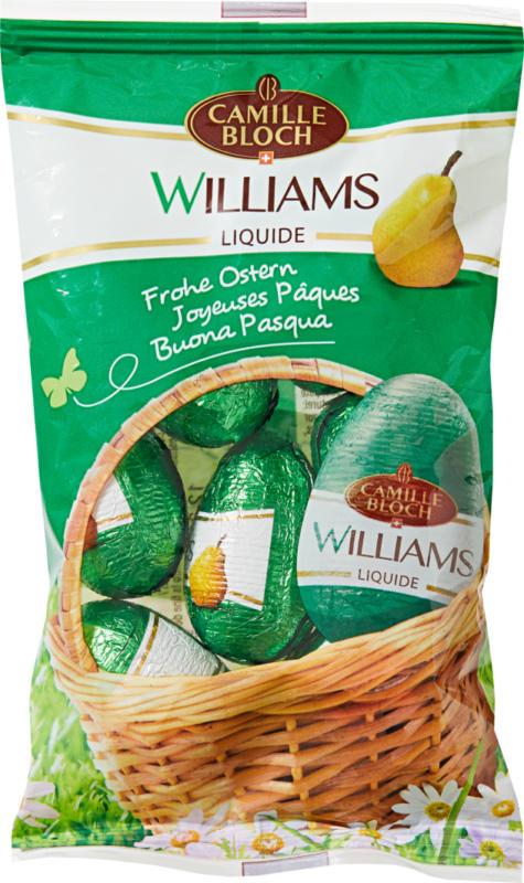 Petits œufs Camille Bloch Williams, mit flüssigem Likör, 140 g