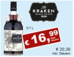 Getränkehaus Krause & Vinothek Weinblatt Kraken Rum - bis 30.04.2021