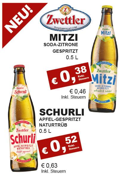Zwettler Schurli - Apfelsaft Naturtrüb Gespritzt