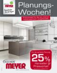 Küchen Meyer GmbH Planungswochen - bis 14.04.2021
