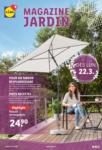 Lidl Magazine Jardin - bis 01.05.2021