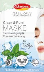 Schaebens Maske Naturals Clean & Pure