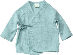ALANA Baby Jacke, Gr. 68, in Bio-Baumwolle, blau