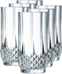 Cristal d'Arques bicchieri per long drink Longchamp 6 pezzi 28 cl -