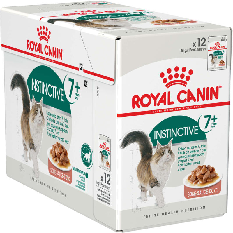 Royal Canin Chat Instinctive 7+ Sauce 12x85g