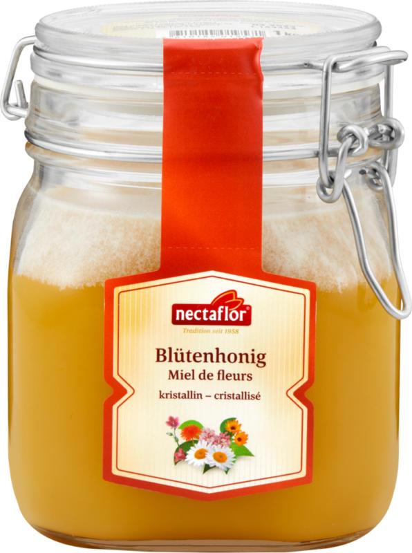 Miel de fleurs Nectaflor , cristallisé, 250 g