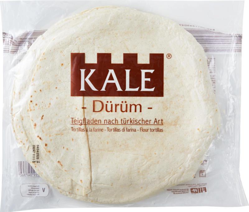Tortillas à la farine Dürüm Kale, 1710 g