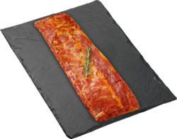 Spare Ribs BBQ Denner, Porc, mariné, Suisse. env. 500 g, les 100 g