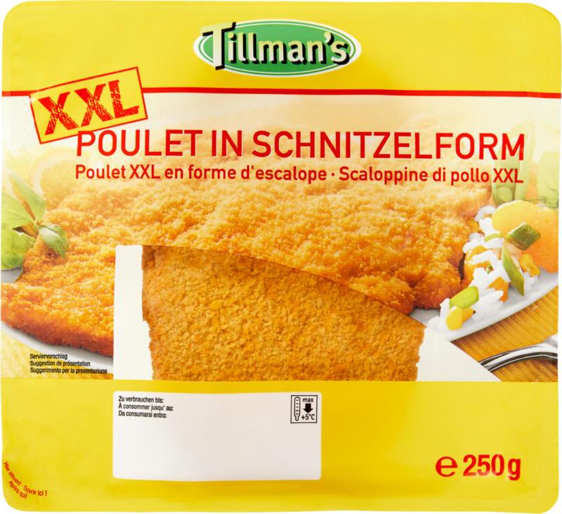 Escalope de poulet XXL Tillman's, 250 g