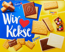 Assortimento di biscotti Wir lieben Kekse Bahlsen Leibniz , 280 g