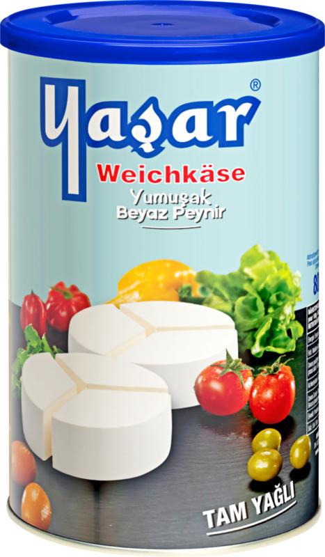 Formaggio a pasta molle Tam Yağli Yaşar,  in salamoia, 800 g