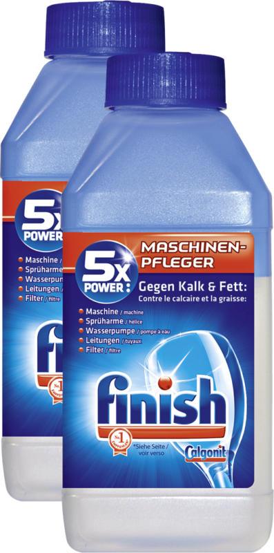 Finish Calgonit Maschinenpfleger Regular, für Geschirrspülmaschinen, 2 x 250 ml