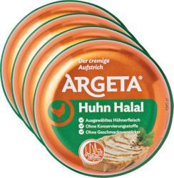 Crema da spalmare Argeta, Pollo halal, 4 x 95 g