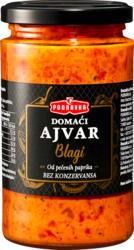 Préparation à base de légumes Ajvar Podravka, fait maison, doux, 350 g