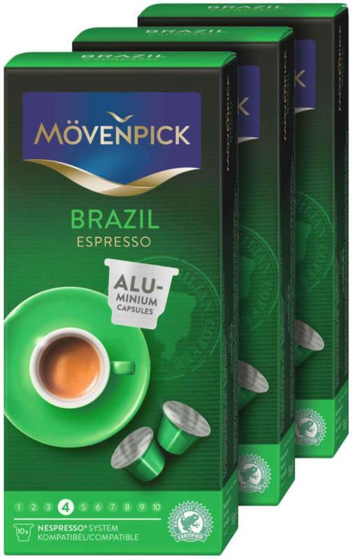 Mövenpick caffè Single Origin scelta 3 x 10 capsule -