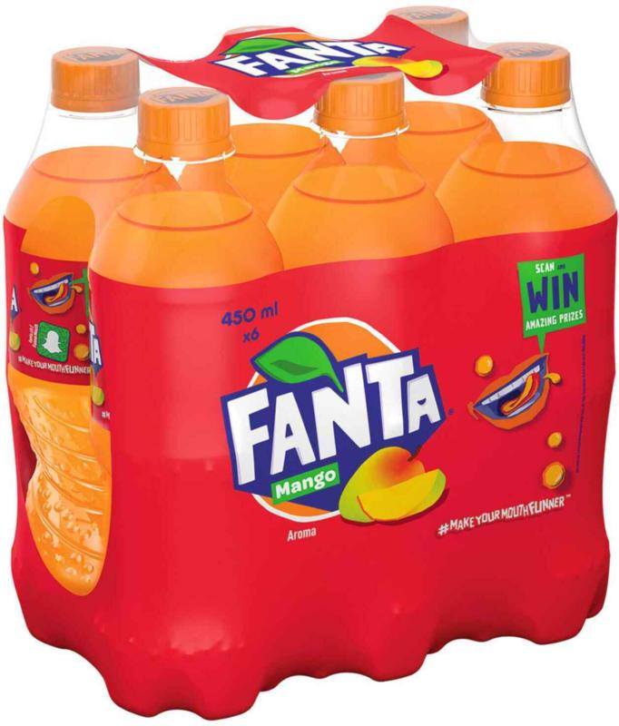 Fanta Mango 6 x 45 cl -