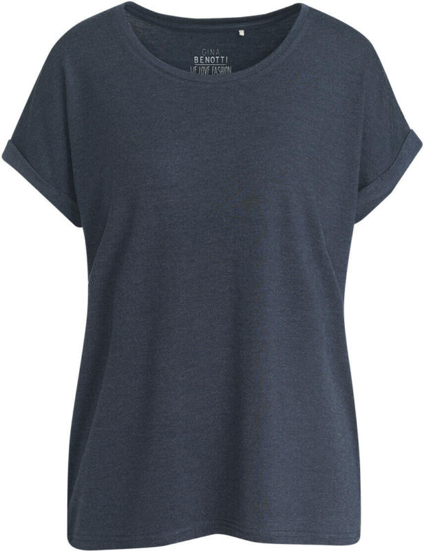 Damen T-Shirt mit überschnittenen Ärmeln (Nur online)