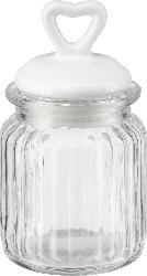 Dekorieren & Einrichten Glasvorratsdose mit Herzdeckel