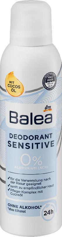 Balea Deospray Deodorant Sensitive