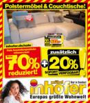 Möbel Inhofer Möbel Inhofer - Polstermöbel & Couchtisch Sale! - bis 21.04.2021