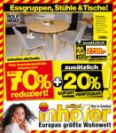 Möbel Inhofer Möbel Inhofer - Alles für Ihr Esszimmer! - bis 21.04.2021