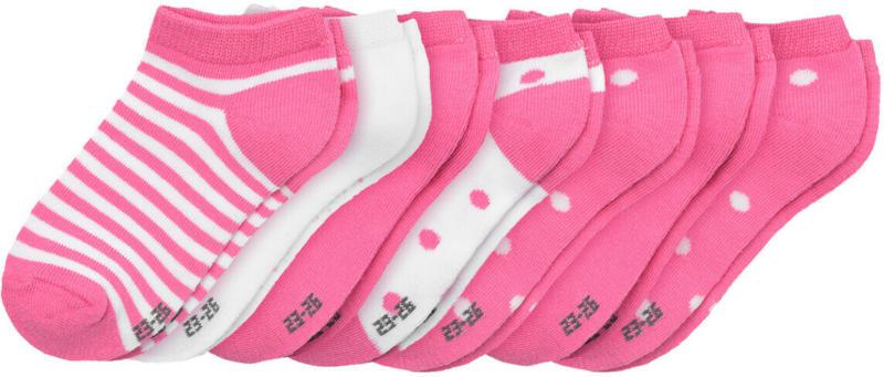 7 Paar Mädchen Sneaker-Socken im Set (Nur online)