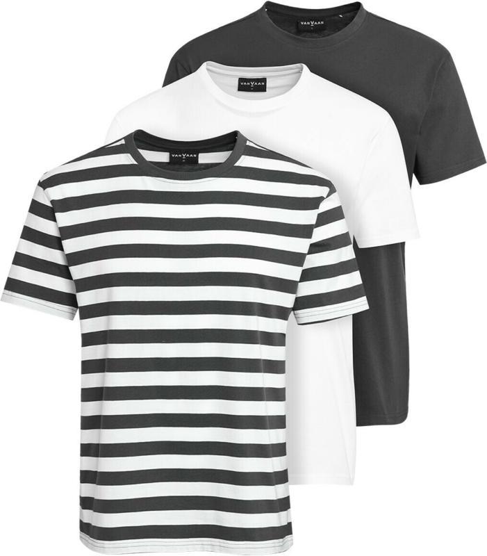 3 Herren T-Shirts im Set (Nur online)