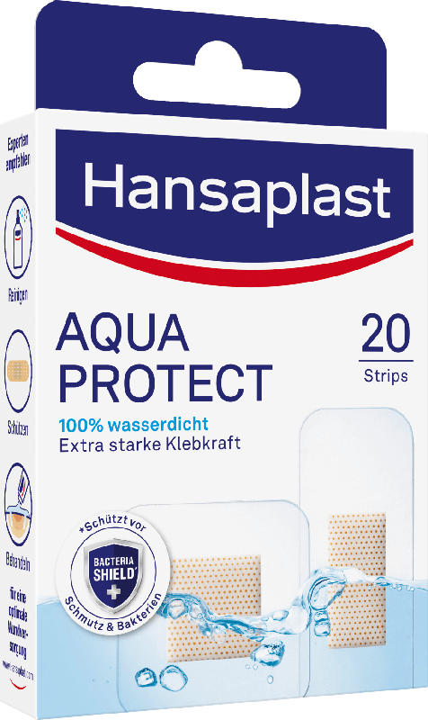 Hansaplast Pflaster Strips Aqua Protect wasserdicht