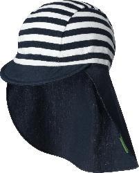 ALANA Kinder Schirmmütze, Gr. 50/51, in Bio-Baumwolle und Elasthan, blau, weiß
