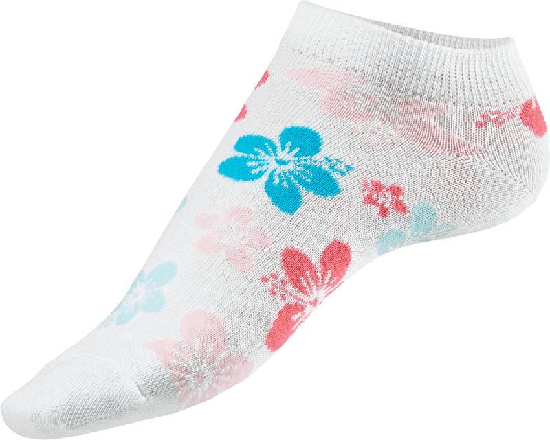 Fascino Sneaker mit Blumen-Motiv, Gr. 35-38, weiß, bunt