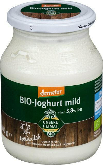 Unsere Heimat - echt & gut Bio-Naturjoghurt mild