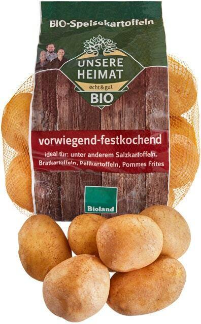 Unsere Heimat - echt & gut Bio Kartoffeln