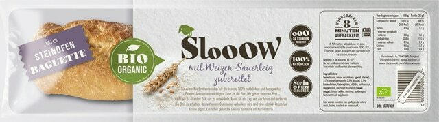 Slooow Bio-Steinofenbaguette