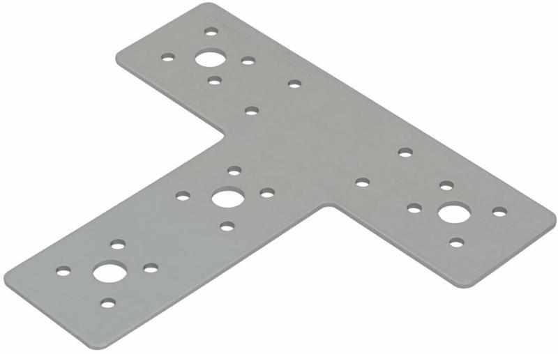 Flachverbinder, Magnodur, 160x143x45mm, T-Form 14,3 cm | 160 mm | Magnodur