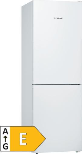 Bosch Freistehende Kühl-Gefrier-Kombination weiß - Serie   4