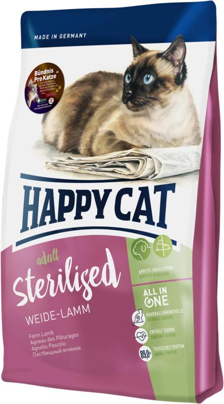Happy Cat Sterilised Weide-Lamm 1.4kg