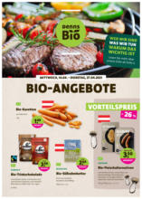 denn's Biomarkt Flugblatt gültig bis 27.4.