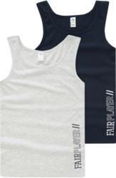 2 Jungen Unterhemden mit Print (Nur online)